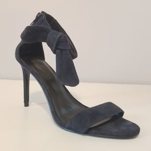 Banana Republic Navy Blue Jasmine Heel Sandals